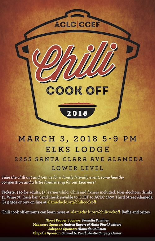 Image of 2018 ACLC Chili Cook Off